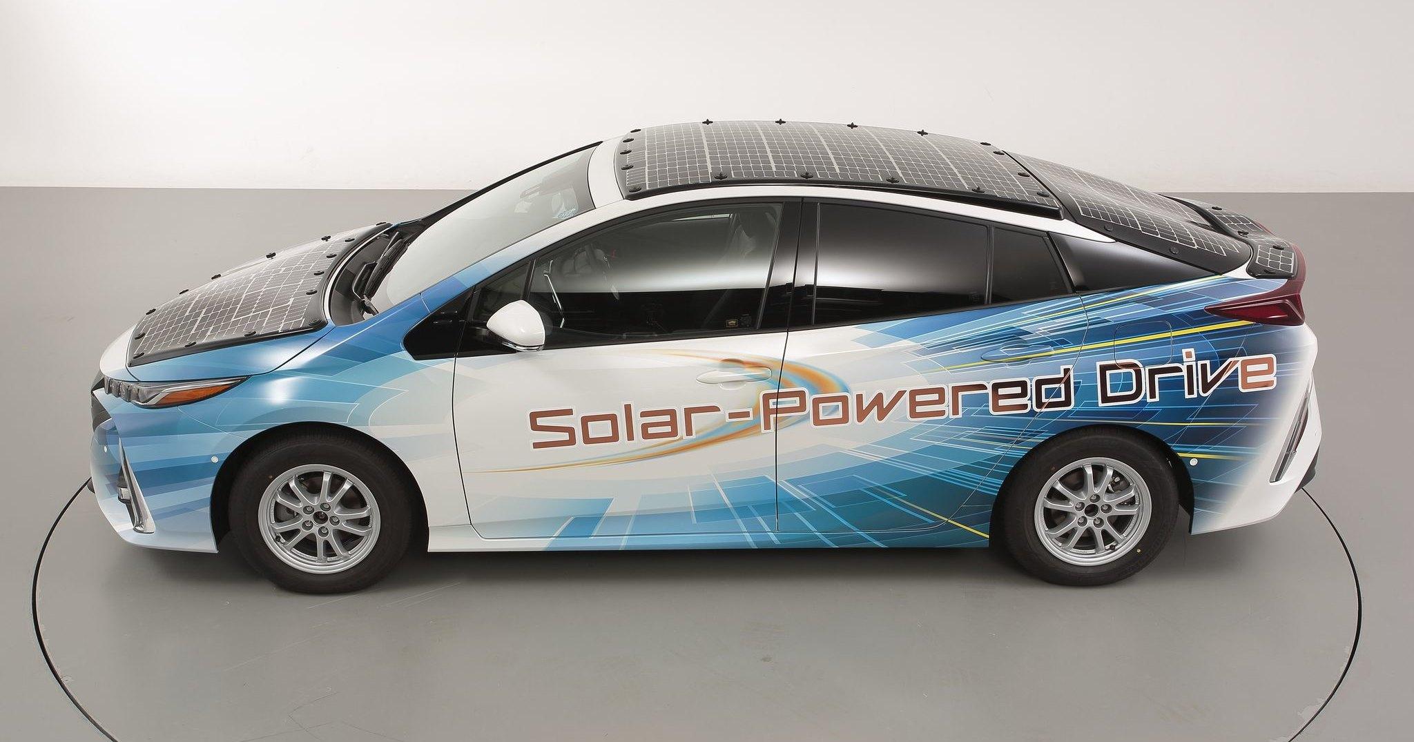 Электромобили откажутся от розеток в пользу солнечных батарей