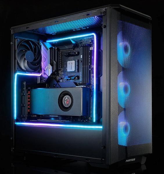 Гибкие светодиодные ленты Phanteks Neon поддерживают цифровое управление
