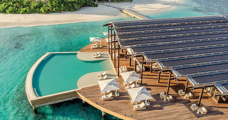 Как экономят постояльцы самого дорогого отеля на Мальдивах