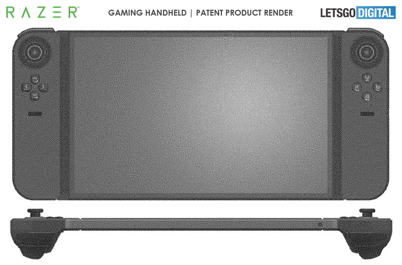 Razer запатентовала новый мобильный геймпад