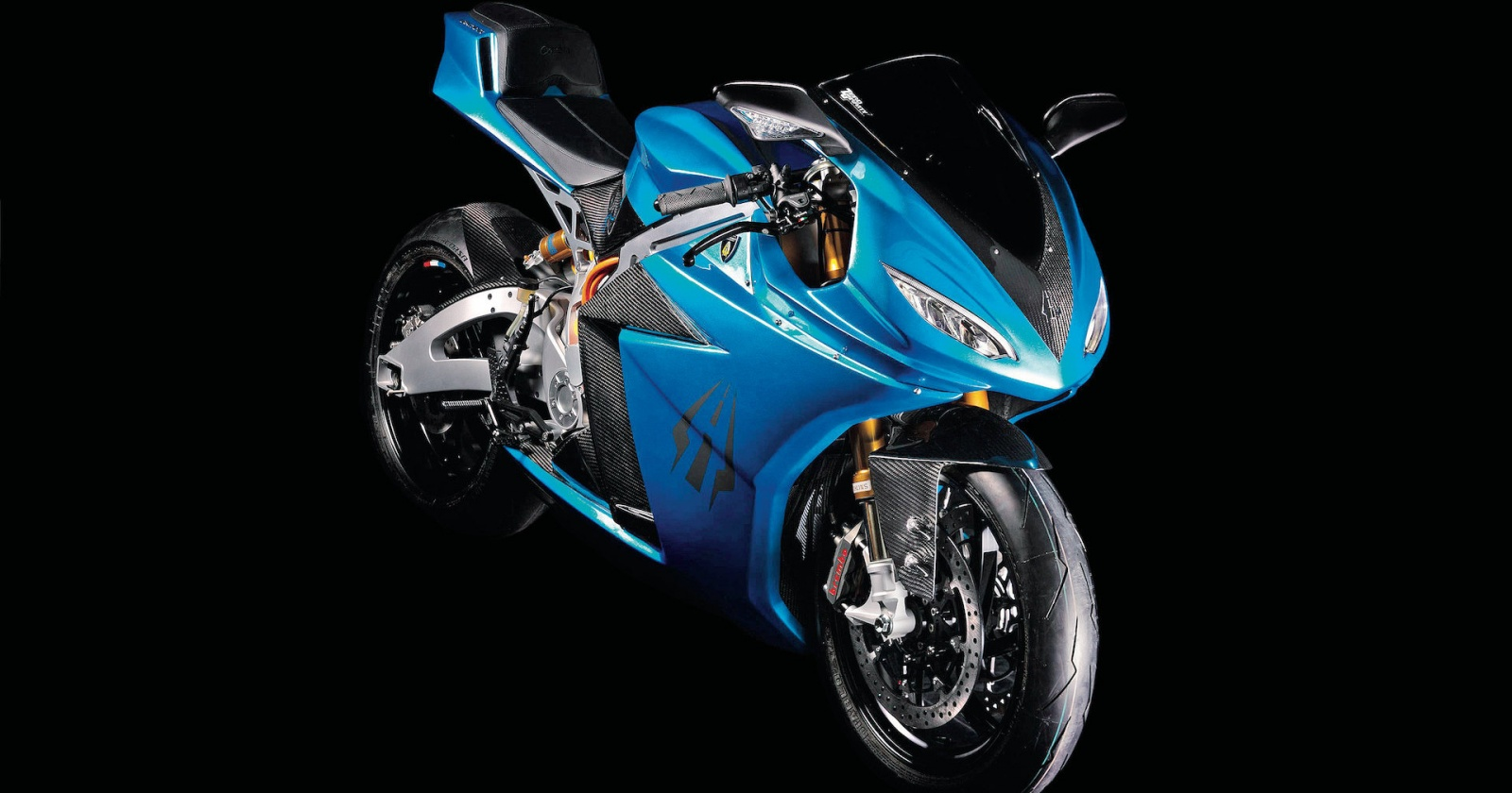 Бешеная табуретка: самый быстрый электромотоцикл в мире