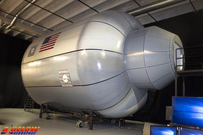НАСА тестирует гигантский космический надувной модуль - 1