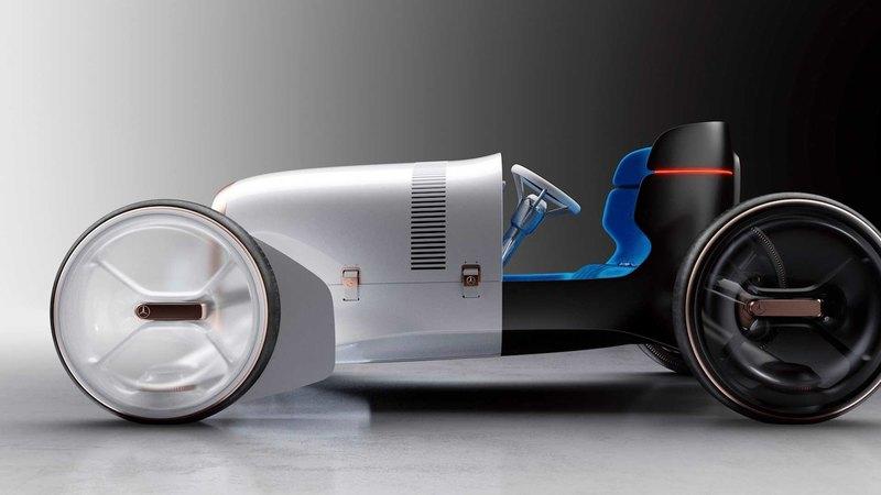 Новый концепт Mercedes напомнил о машине 1901 года