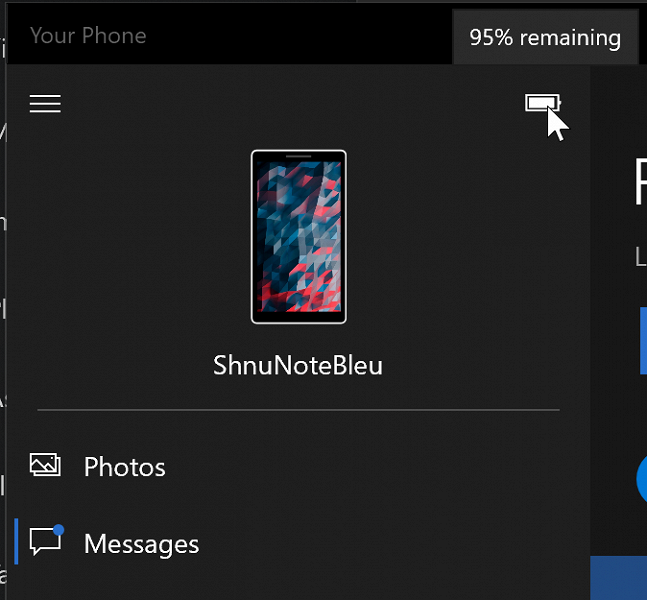 Microsoft научила Windows 10 показывать обои смартфона