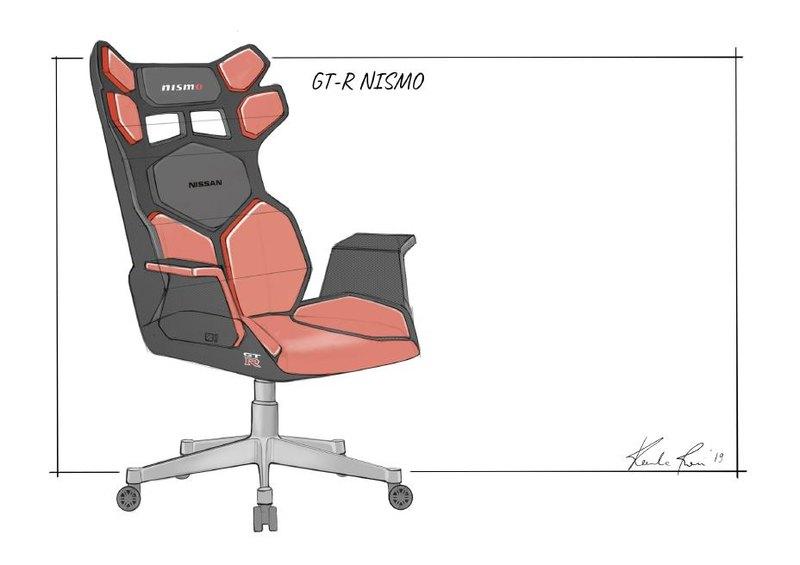 Nissan показал концептуальные геймерские кресла