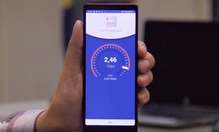 «МегаФон» добился скорости около 2,5 Гбит/с на 5G-смартфоне