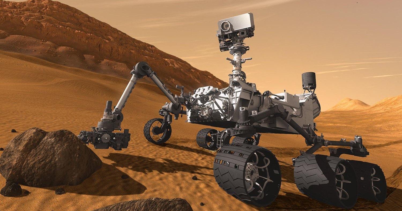 Пейзажи Марса. 7 лет работы Curiosity