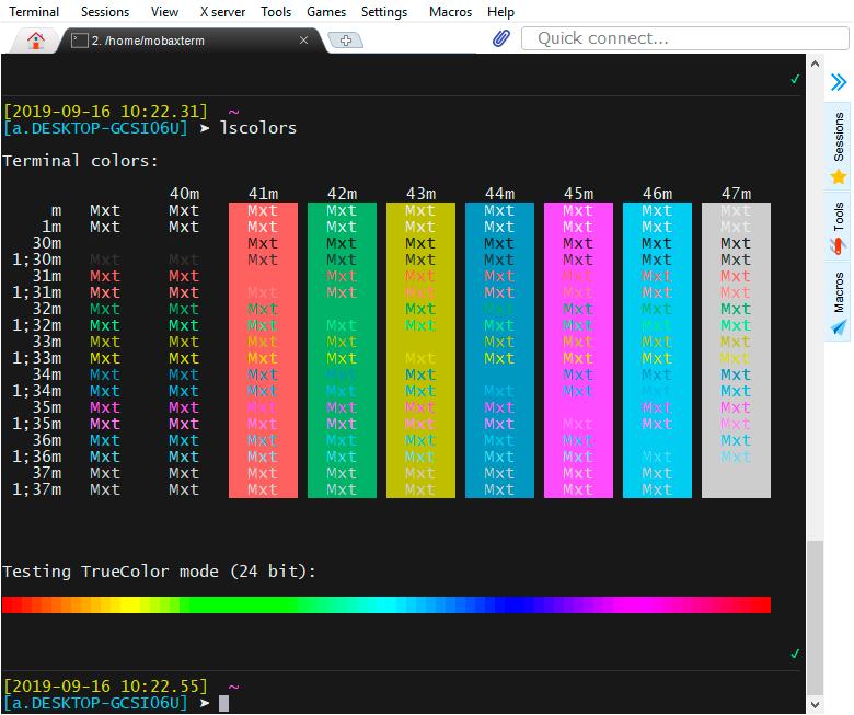 Поддержка 24-bit цветов в терминале в связке ssh + tmux + neovim - 1