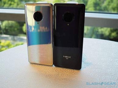 Представлен Vivo Nex 3 5G — первый в мире смартфон с экраном-водопадом