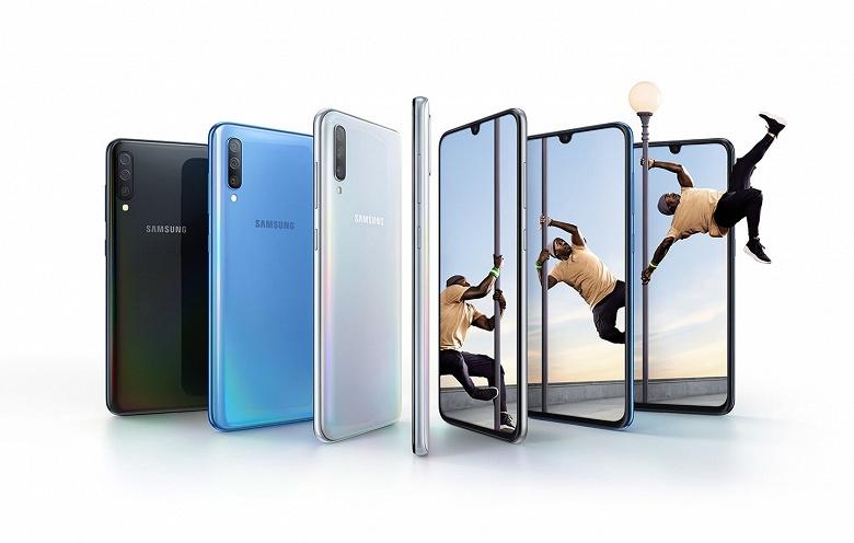 Стала известна цена и ёмкость аккумулятора смартфона Samsung Galaxy A70s
