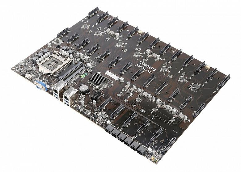 Onda B250 D32-D3 — гигантская системная плата с 32 портами SATA