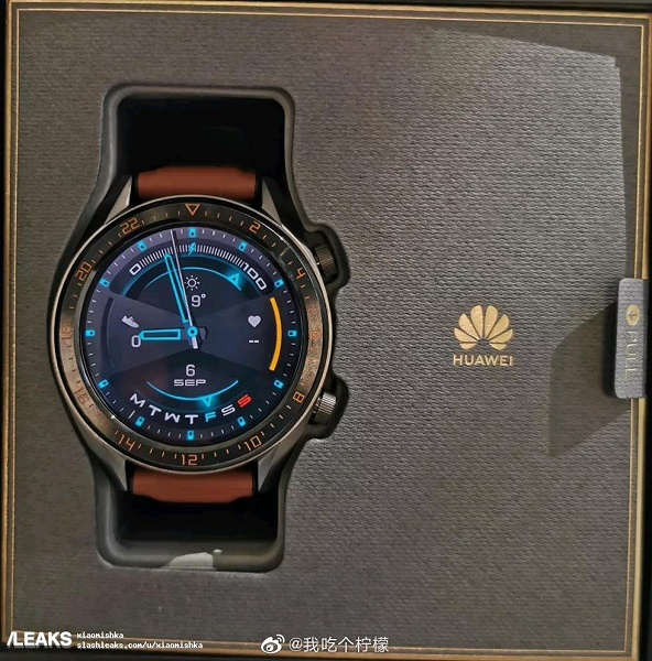 Живые фото умных часов Huawei Watch GT 2