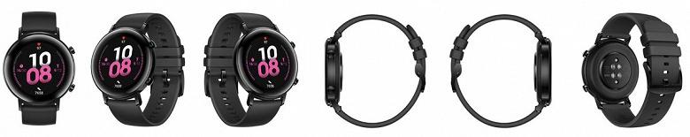 Много вариантов на любой вкус: умные часы Huawei Watch GT 2 под управлением HarmonyOS позируют на официальных рендерах