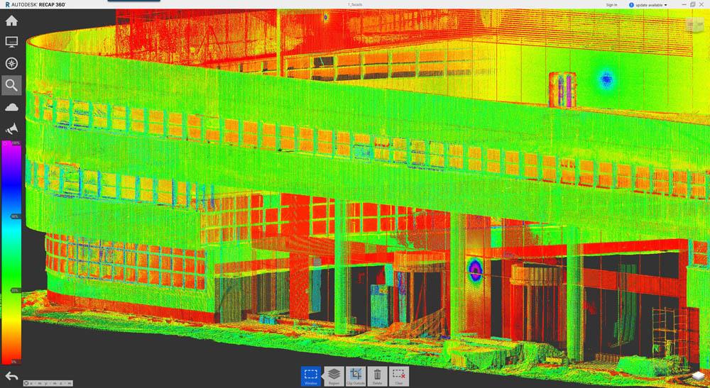 Пиу-пиу лазером — и видно косяки строителей: сверхточная модель здания на основе лазерного сканирования - 10