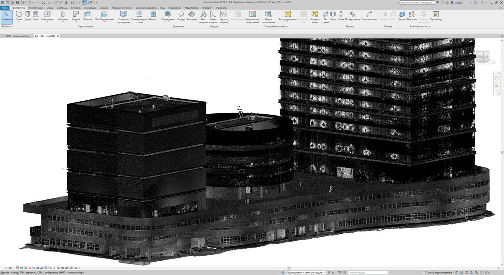 Пиу-пиу лазером — и видно косяки строителей: сверхточная модель здания на основе лазерного сканирования - 13