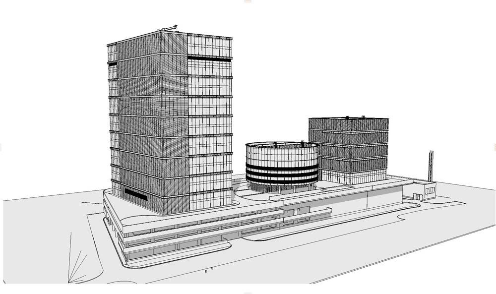 Пиу-пиу лазером — и видно косяки строителей: сверхточная модель здания на основе лазерного сканирования - 17