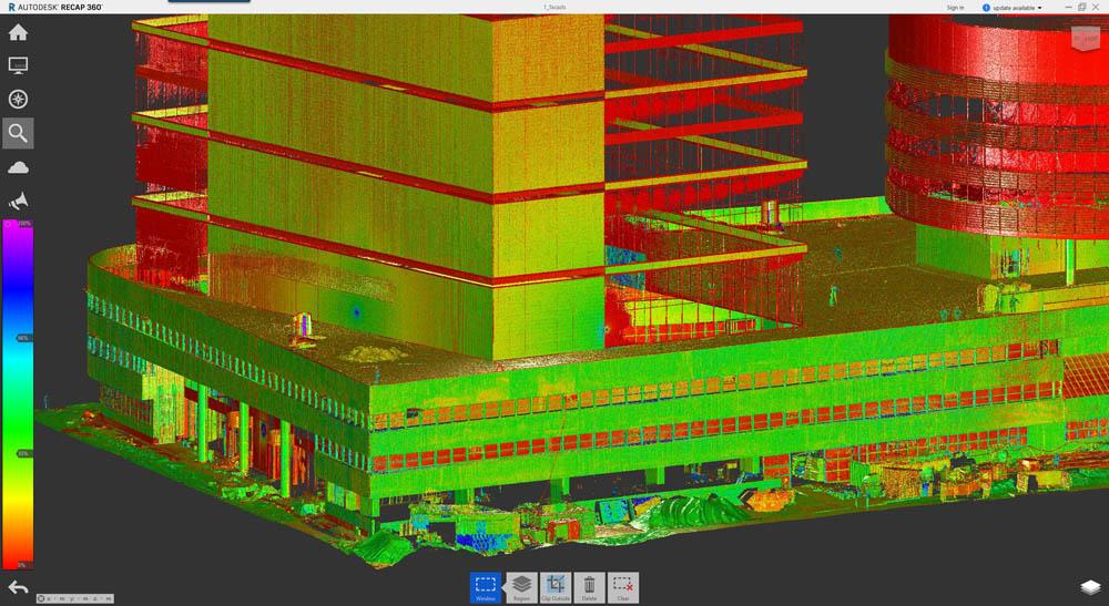 Пиу-пиу лазером — и видно косяки строителей: сверхточная модель здания на основе лазерного сканирования - 9