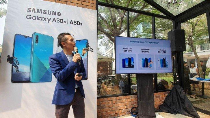 Представляя смартфон Galaxy A20s, компания Samsung ошиблась в описании модели Galaxy A20