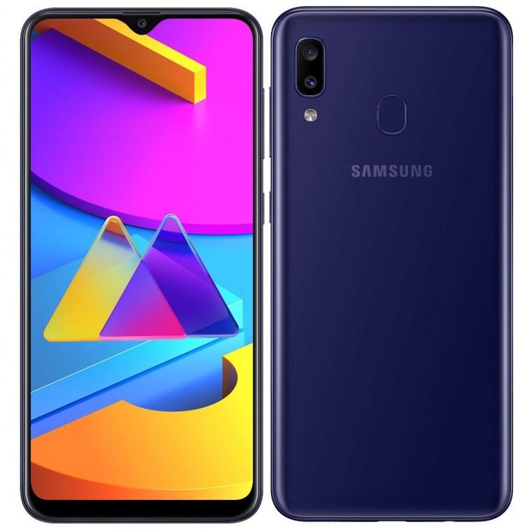 Samsung Galaxy M10s: недорогой смартфон с экраном Super AMOLED Infinity-V