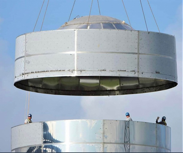 Опубликованы снимки орбитального прототипа космического корабля SpaceX