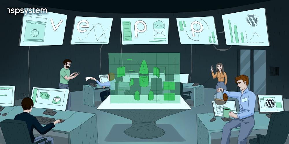 Представляем Vepp — новую панель управления сервером и сайтом от ISPsystem - 1