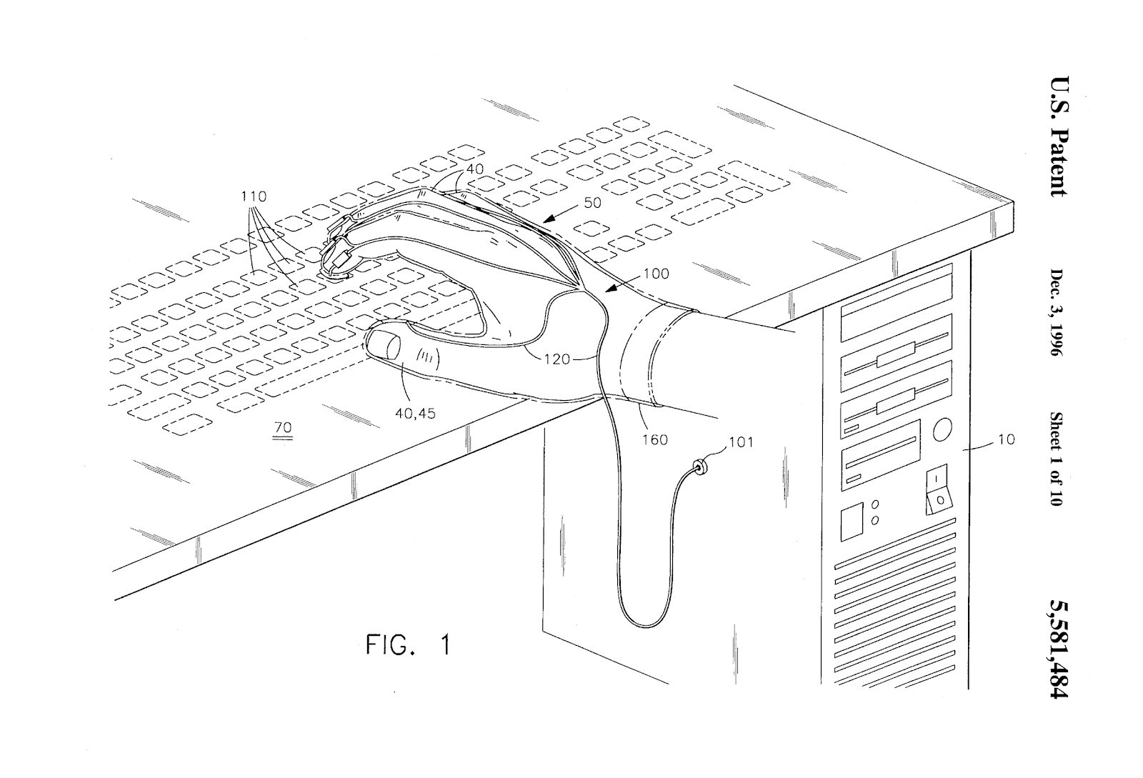 Качаем пресс с помощью игрового контроллера, или 8 необычных патентов на устройства ввода - 11