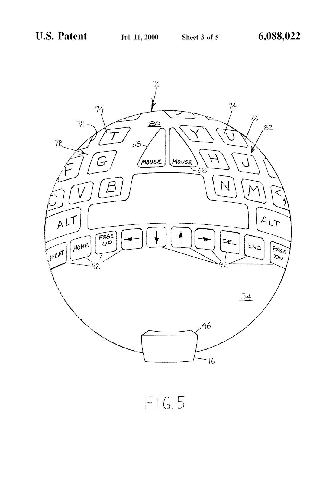Качаем пресс с помощью игрового контроллера, или 8 необычных патентов на устройства ввода - 5