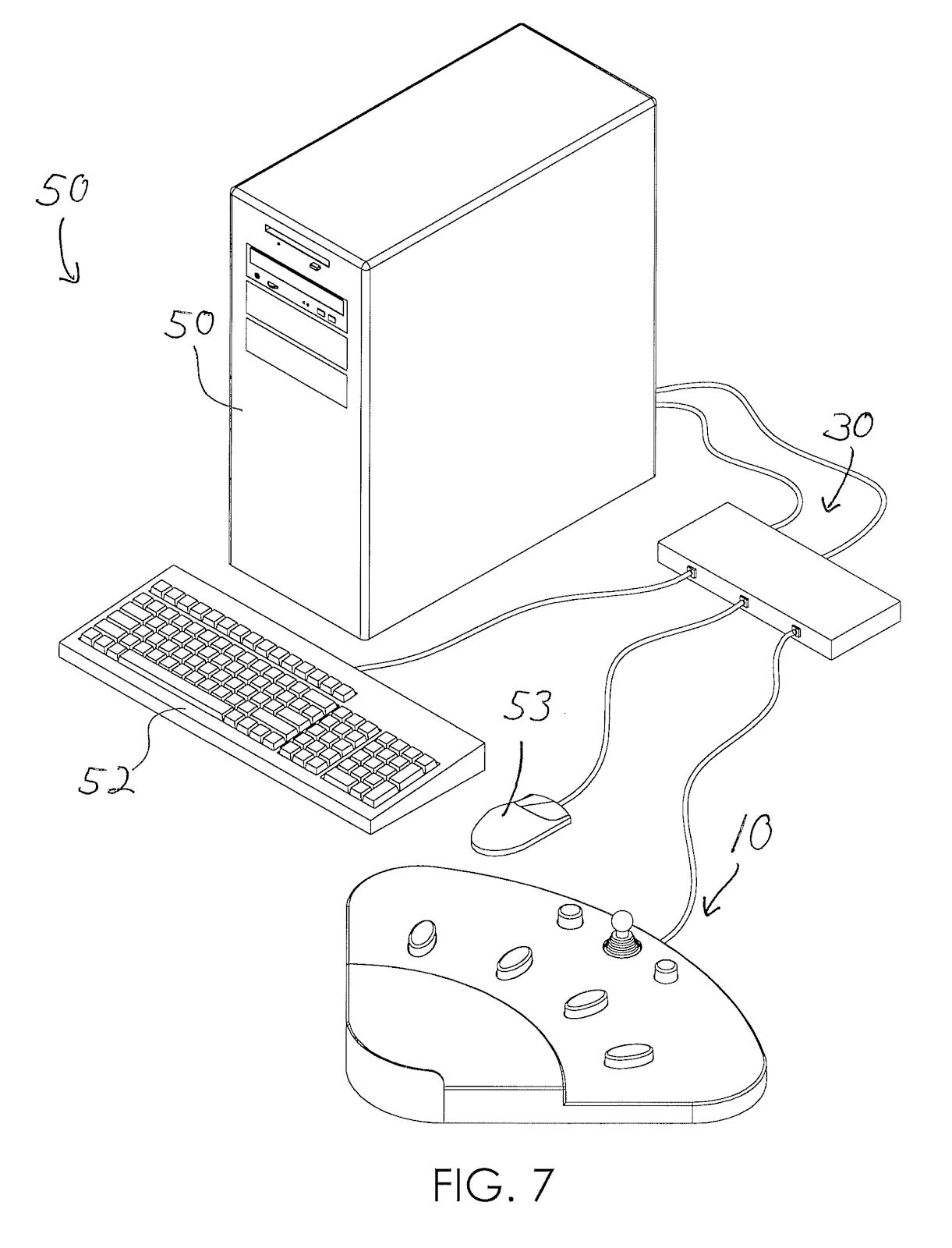 Качаем пресс с помощью игрового контроллера, или 8 необычных патентов на устройства ввода - 9