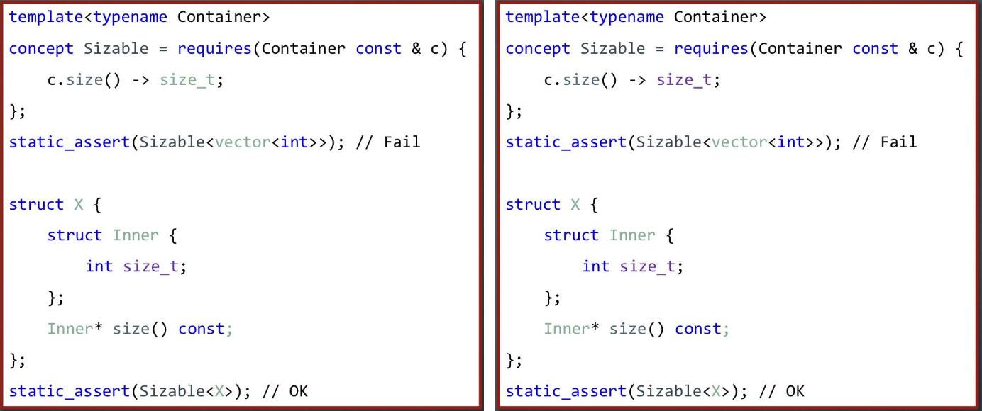 Концепты: упрощаем реализацию классов STD Utility - 2