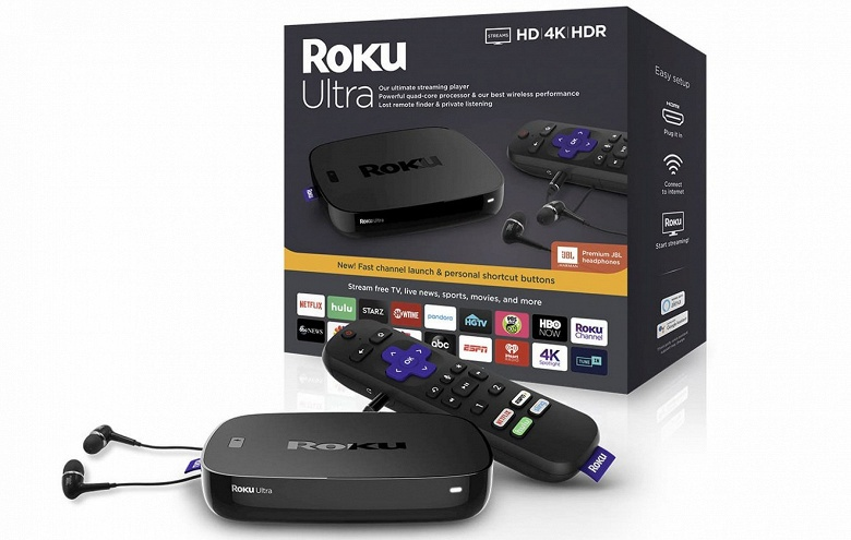 Обновленный проигрыватель Roku Express вполне может работать от порта USB, которым оснащен телевизор