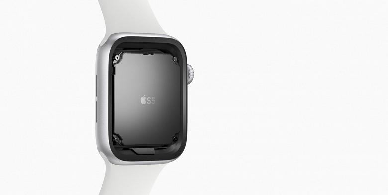 Умные часы Apple Watch Series 5 получили прошлогодние CPU и GPU