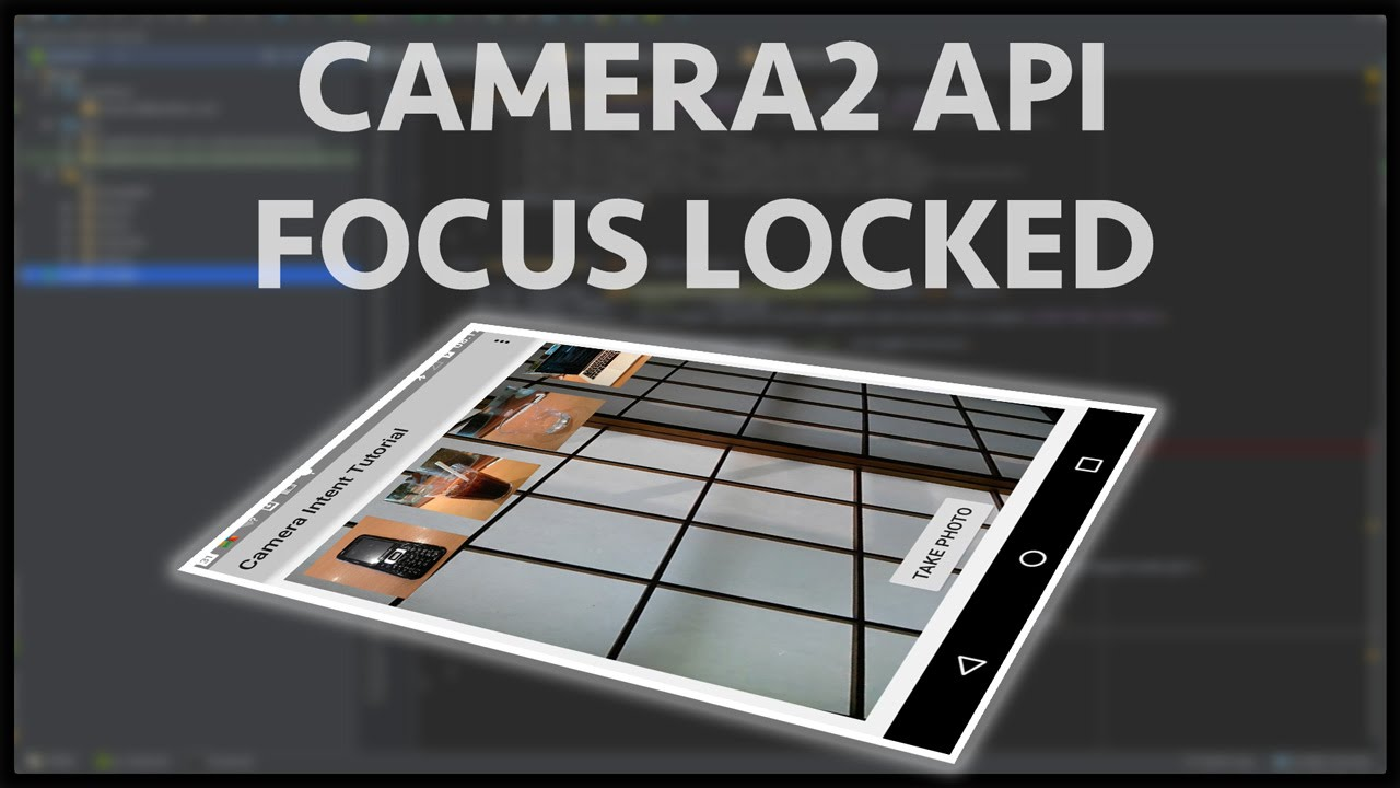 ANdroid Camera2 API от чайника - 1