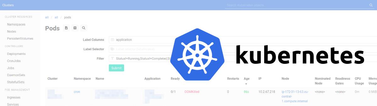 Анонс веб-интерфейса Kubernetes Web View (и краткий обзор других web UI для Kubernetes) - 1