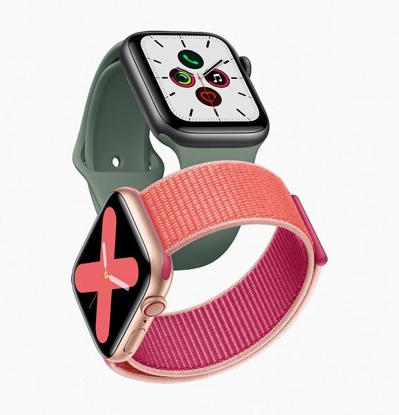 Начало продаж умных часов Apple Watch Series 5