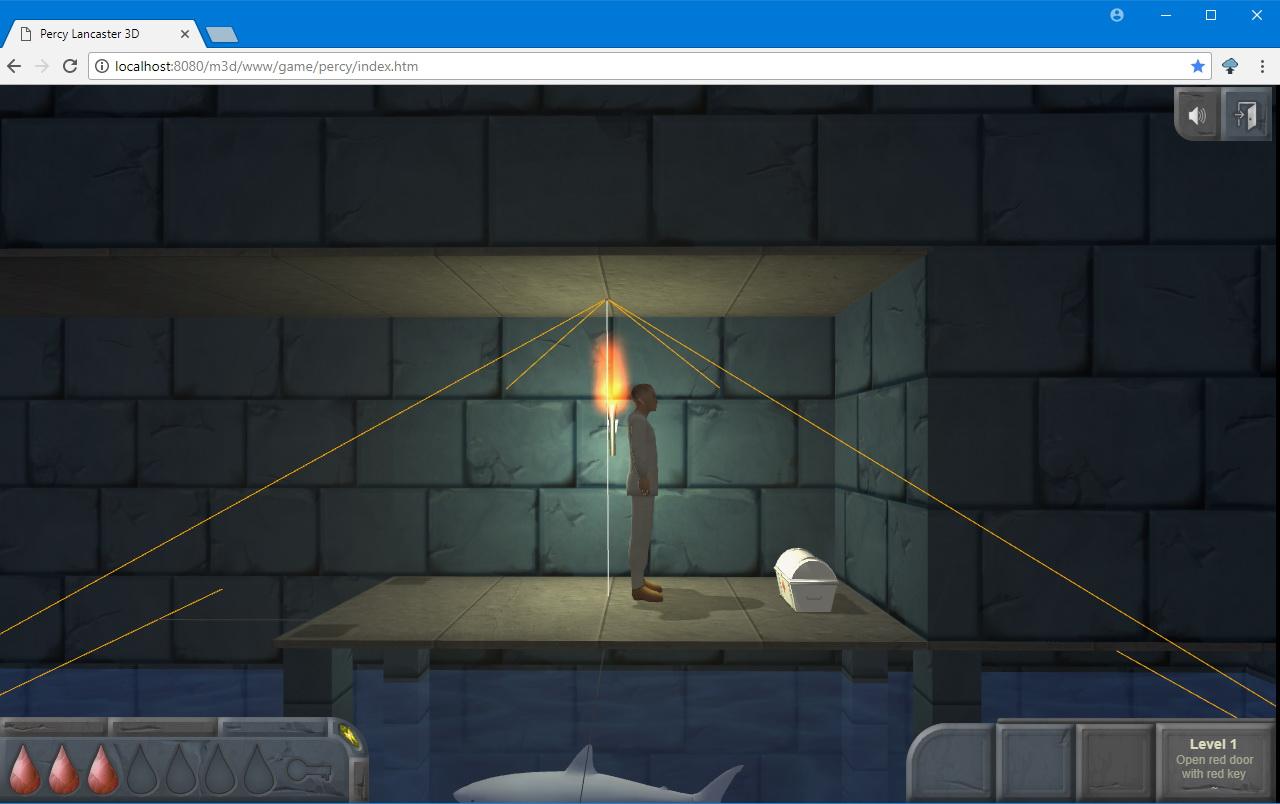 Новая игра со старой атмосферой на Three.js - 3