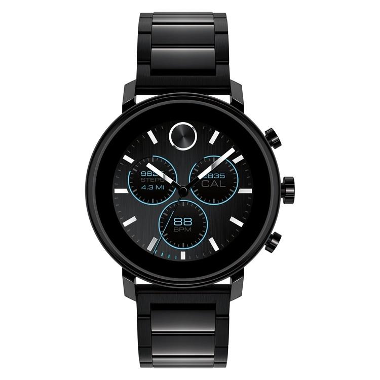 Movado Connect 2.0: смарт-часы с датчиком ЧСС и программируемыми кнопками