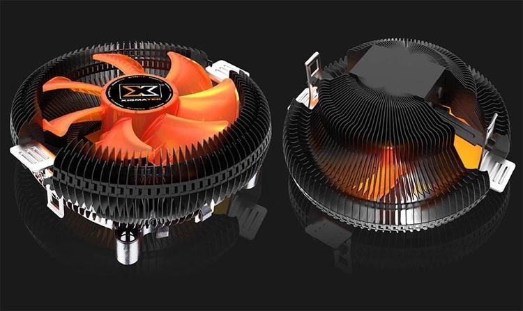 Xigmatek Apache V: кулер радиального типа для компактных систем