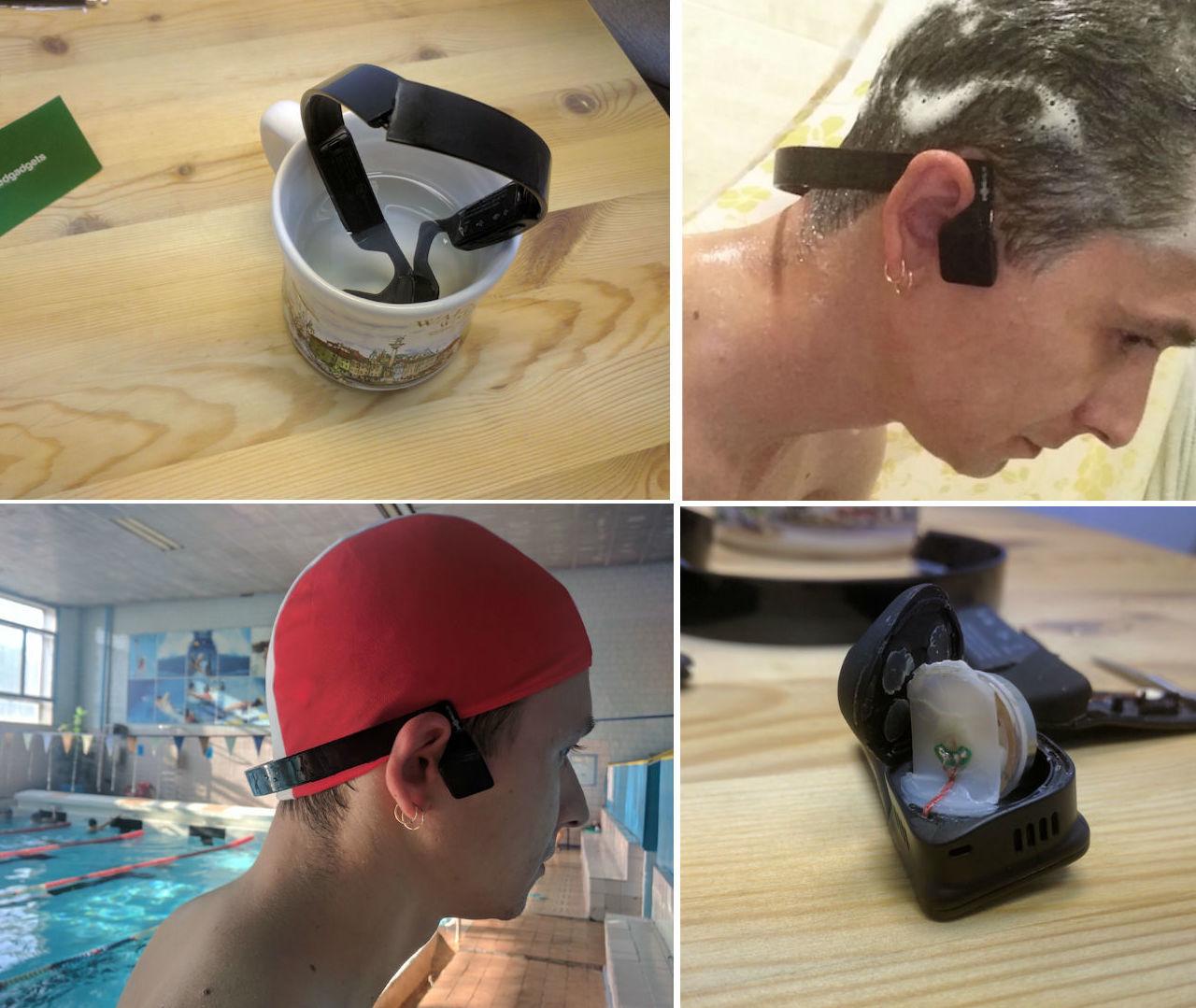 Наушники для плавания Xtrainerz от Aftershokz с костной проводимостью звука — вышло круто - 6