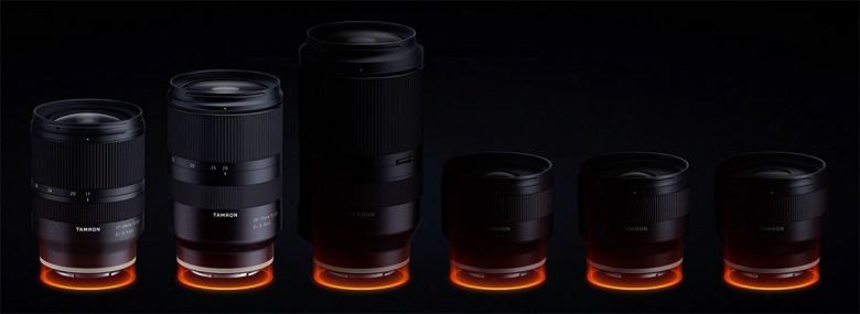 Стало известно, какие объективы с креплением Sony E компания Tamron представит в октябре