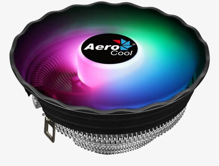Высота кулера AeroCool Air Frost Plus составляет 70 мм