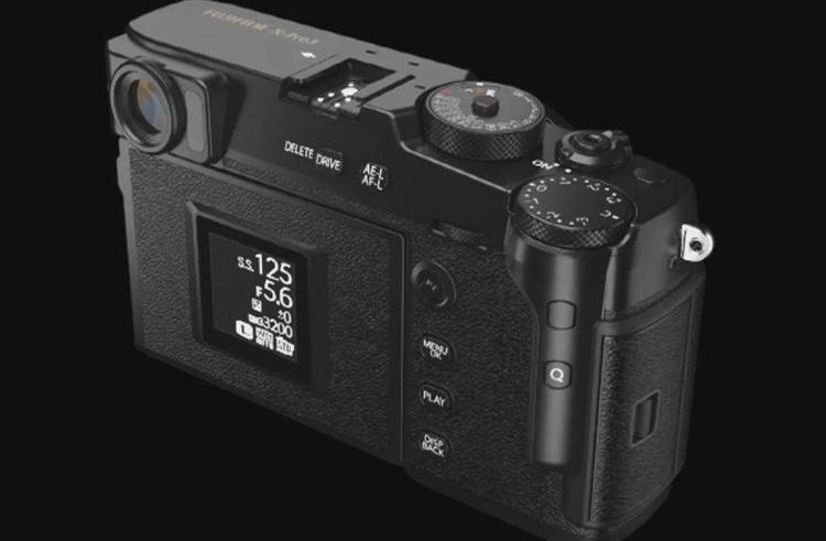 Фотоаппарат Fujifilm X-Pro3 получит скрытый дисплей