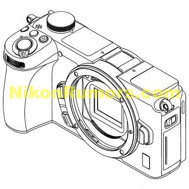 Появились изображения беззеркальных камер Nikon формата APS-C