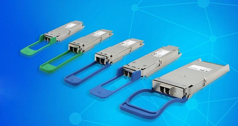 Компания CIG представила оптические модули 400G, 200G и 100G для центров обработки данных