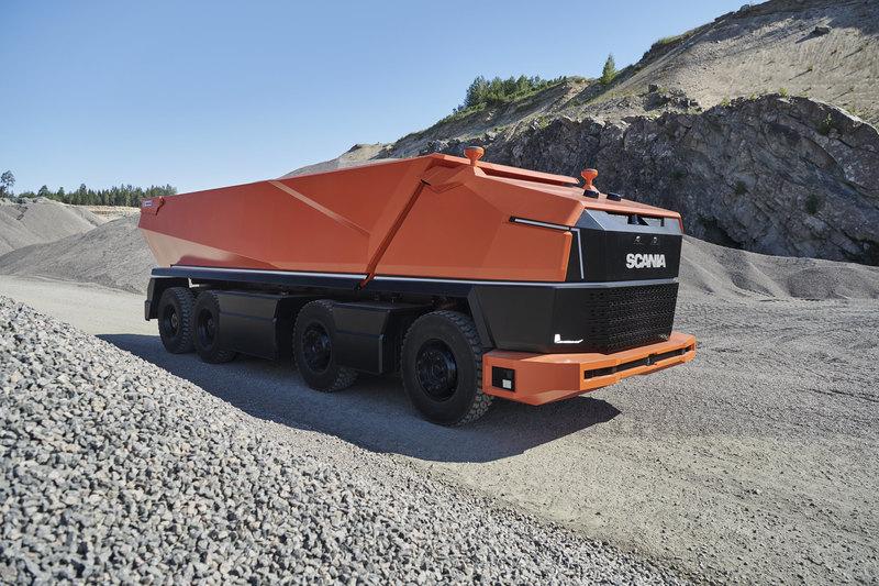 Scania показала грузовик без кабины