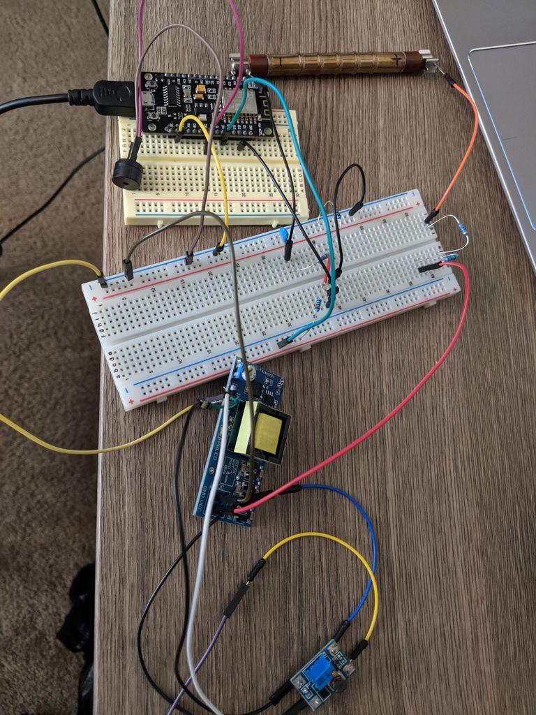 Самодельный счётчик Гейгера на ESP8266 с сенсорным экраном - 10