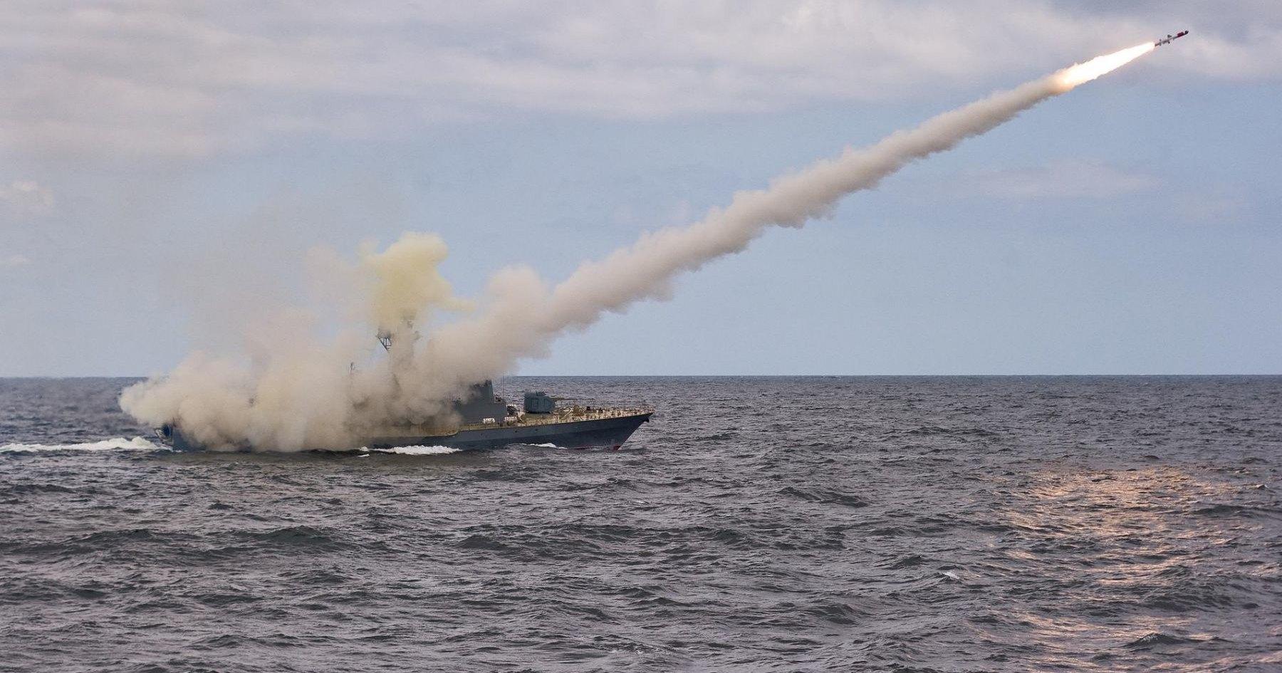 «Смерч» запустил «Уран» в Японском море: видео