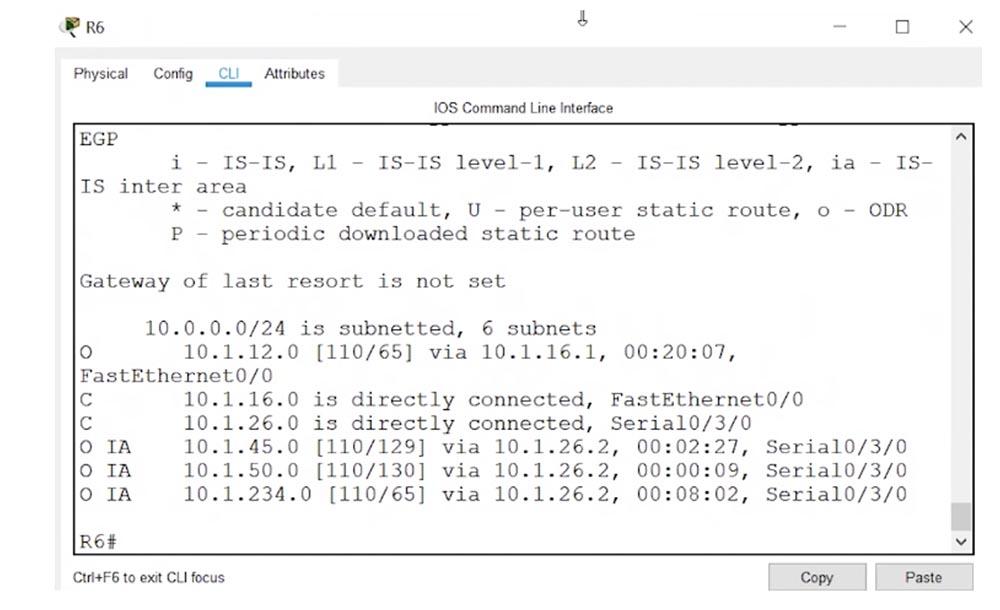 Тренинг Cisco 200-125 CCNA v3.0. День 48. Мультизонирование OSPF - 10