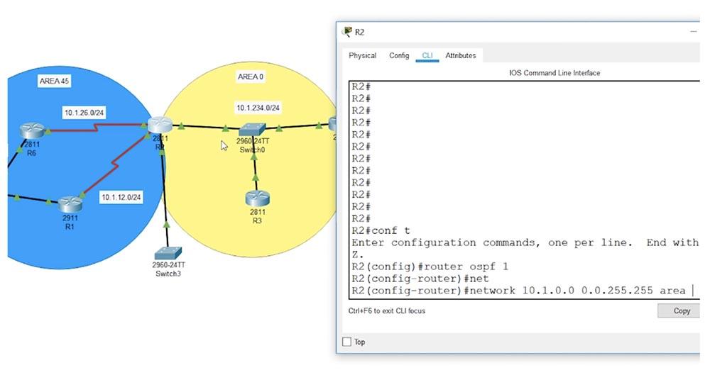 Тренинг Cisco 200-125 CCNA v3.0. День 48. Мультизонирование OSPF - 6