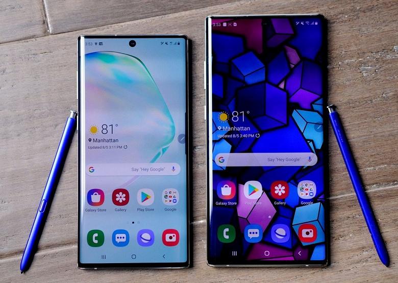 Аналитики назвали причины успеха Samsung Galaxy Note10