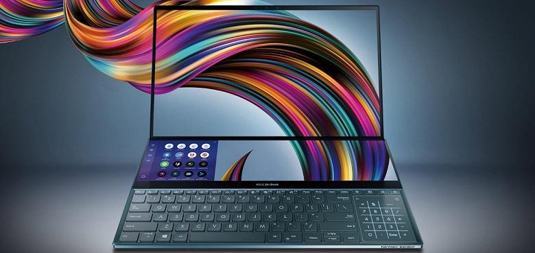 Ноутбук будущего Asus ZenBook Pro Duo с дополнительным экраном выходит в России